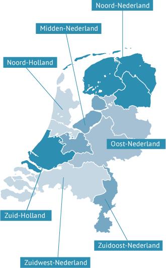 oosten nederland plaatsen